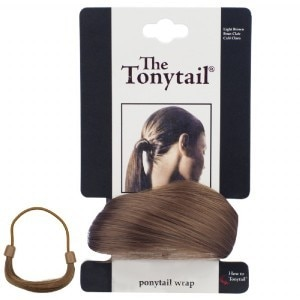 Mia Tony Pony Tail Wrap Light Brown
