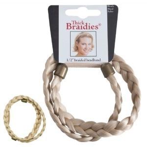 Mia Thick Braidie 13mm Braided Faux Headband Blonde
