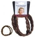 Mia Thick Braidie 13mm Braided Faux Headband Light Brown