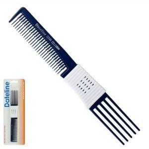 Dateline Professional   Blue Celcon 301R Plastic Teasing Comb – 20cm