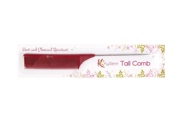 kySienn Red 26cm Tail Comb