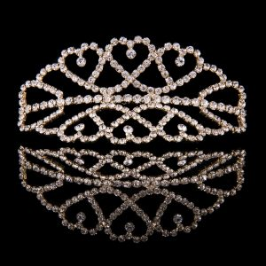 Mad Ally Medium Double Tiara Gold