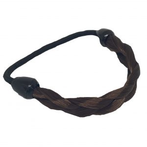 KySienn Pony Tail Wrap Plated Dark Brown