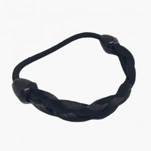 KySienn Pony Tail Wrap Plated Black
