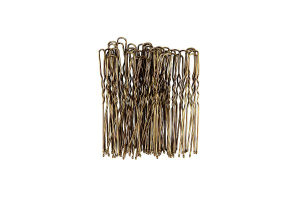 KySienn Ripple Pins 6cm - 100 Pack Light Brown