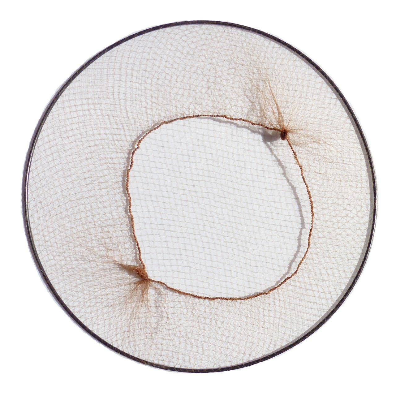 KySienn Hair Nets 10 Pack Medium Brown