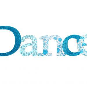 Dance Sign Blue