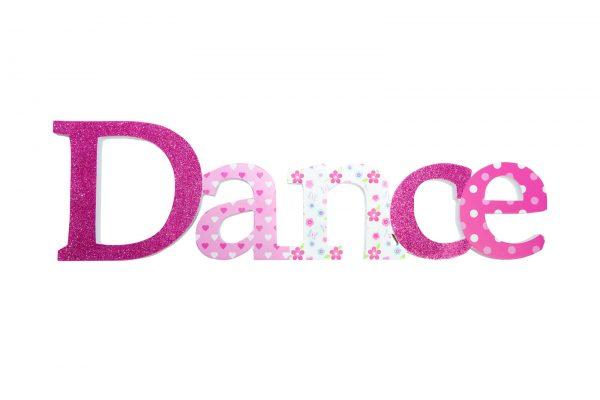 Dance Sign Pink