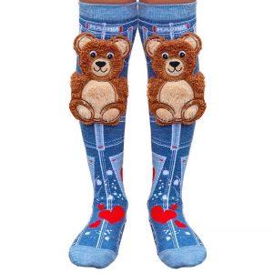 Mad Mia Teddy Bear Socks