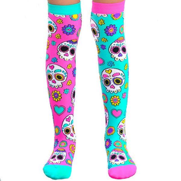 Mad Mia Sugar Skull Socks