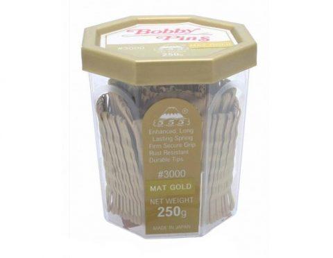 999 Matte Gold Bobby Pins 2inch