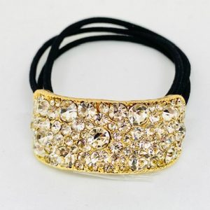 KySienn Charlize Gold Rhinestone Pony Cuff