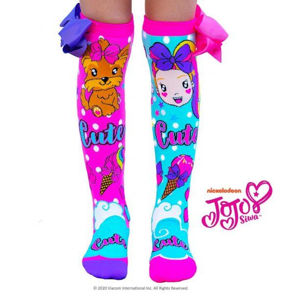 Mad Mia Jojo and Bowbow socks